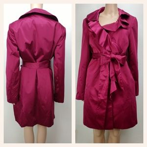 Cranberry Red WHBM coat
